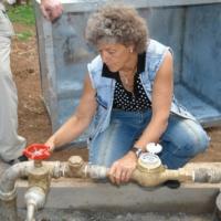 Abnahme Brunnenhaus