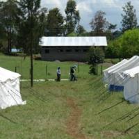 Besichtigung des Camps